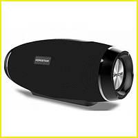 Портативная Bluetooth колонка Hopestar Original со встроенным микрофоном Чёрная (H27) РАЗНЫЕ ЦВЕТА
