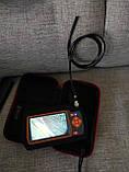Ендоскоп 5,5 мм Подвійна камера для діагностики Дизельних та Бензинових двигунів товщина всього 5,5 мм Зум 2х, фото 9
