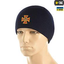 M-Tac шапка ДСНС тонкая вязка 100% акрил Dark Navy Blue L/XL