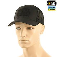 M-Tac бейсболка тактическая с сеткой Elite Flex Black L/XL