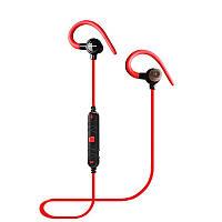 Наушники Bluetooth Awei A620BL с магнитами, красные