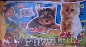 """Пазл-магниты для холодильника """"Animal Magnet Puzzle"""""""