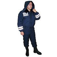 Костюм патрульной службы зимний утепленный милицейский