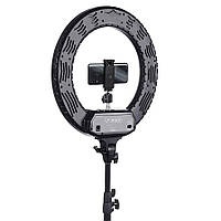 Профессиональная кольцевая лампа с штативом R-480C, 48 Вт Сумка , Зеркало , держатель для телефона