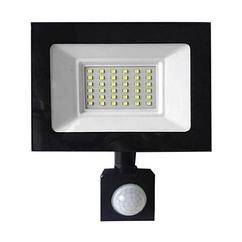 Прожектор LED c датчиком руху Vg-30W, IP65, 6500K, 2700Лм. Box