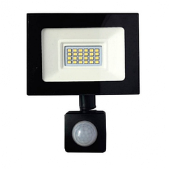 Прожектор LED c датчиком руху Vg-20W, IP65, 6500K, 2700Лм. Box