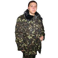 Куртка зимняя утепленная камуфляжная
