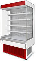 Витрина холодильная среднетемпературная пристенная 1,25