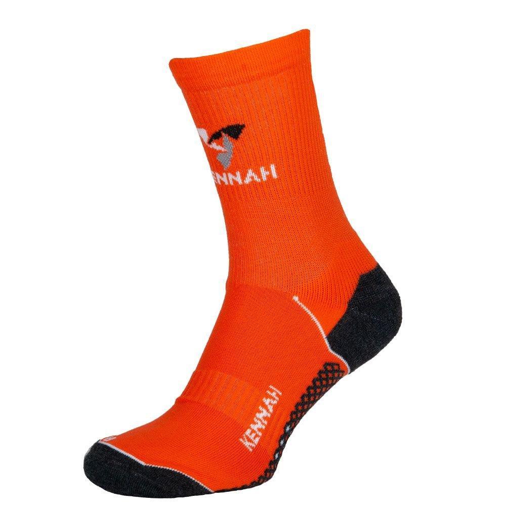 Шкарпетки чоловічі спортивні компресійні мультиспорт, KENNAH, помаранчевий