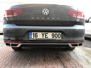 Накладки на глушник VW Passat B8 (2019+)