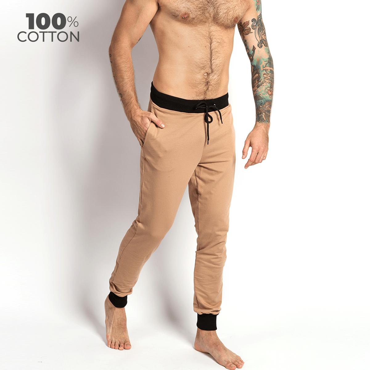 Чоловічі штани для дому та відпочинку Lounge Pants, бежевий