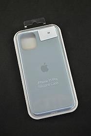Чохол для телефону iPhone 11Pro Silicone Case original FULL №27 ash