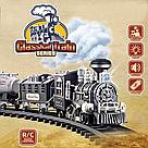 """Залізниця 3072 (8) """"Паровоз"""", на батарейках, 16 елементів, довжина шляхів 206 см, 3 вагони, дим, звук,, фото 2"""