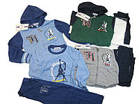 Костюм трикотажный для мальчиков, размеры 98,104.110,116,122,128, арт. CJ-1385