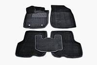 3D коврики для Renault Logan II 2013- ворсовые черные 5шт 88364 Seintex, фото 1