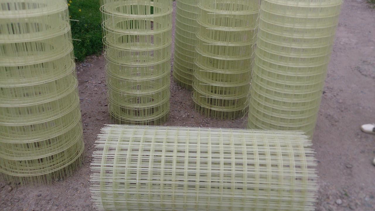 Композитная кладочная сетка d3 мм., 50х50 ячейка