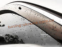 Ветровики с хром кантиком на Toyota Camry XV50 2011+
