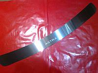 Накладка на задний бампер OPEL ASTRA J универсал