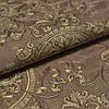 Обои виниловые на флизелиновой основе Славянские обои LeGrand Platinum В118 Рококо коричневый 1,06 х 10,05м