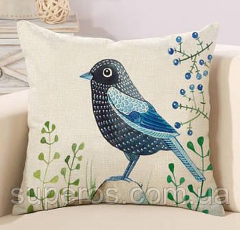 Декоративна подушка (наволочка) Колекція Birds