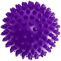 Мяч массажный Ортопедический 9см для лечения и профилактики плоскостопия Фиолетовый