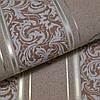 Шпалери вінілові на паперовій основі Vinil ВКV Філіп кавовий 0,53 х 10,05 м (3-1120), Кавовий, Кавовий