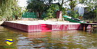 Укрепления берегов водоемов Херсон