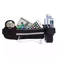 Спортивная сумка на пояс с отделом для бутылки Belt-Case(TopTrends)