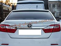 Спойлер - сабля на Toyota Camry XV50 2011-2014