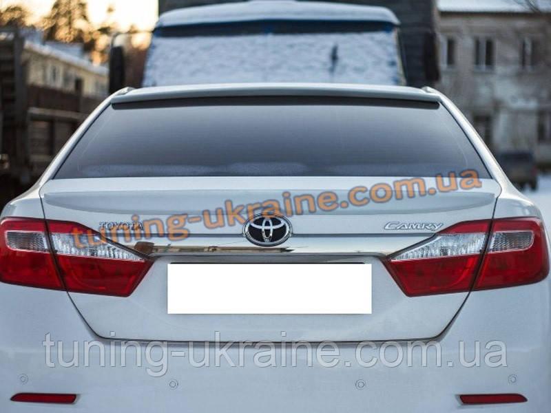 Спойлер - сабля на Toyota Camry XV50 2011-2014 - ООО Tuning Avto в Харькове