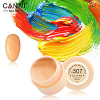 Гель- краска Сanni 507 бледно-оранжевая