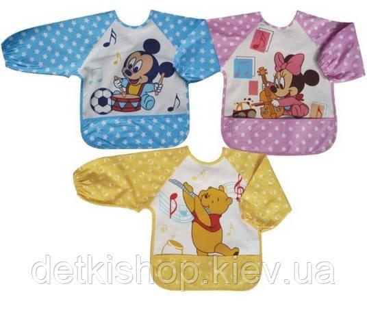 Слюнявчики с рукавами Disney