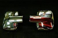 Накладки на зеркала на Мерседес Вито W638 с 96-04 (нерж) CARMOS Турция.