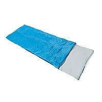 Спальный мешок Кемпинг Rest 250R с подушкой синий