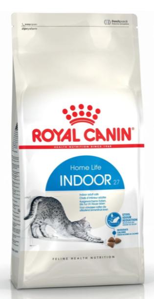 Сухий корм Royal Canin (Роял Канін) INDOOR 27 для кішок, що живуть в приміщенні, 400 г