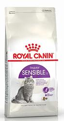 Royal Canin (Роял Канин) SENSIBLE Сухой корм для кошек с чувствительным пищеварением, 2 кг