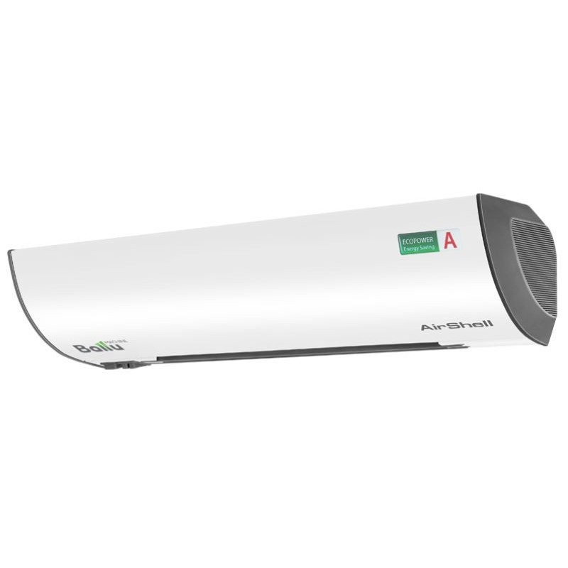 Компактна електрична теплова завіса AirShell Ballu BHC-L10S06-SP