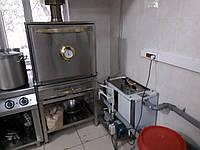 Гидрофильтр, искрогаситель гидравлический GF-1, для печей и мангалов, Пропускная способность - 1000 м3/час