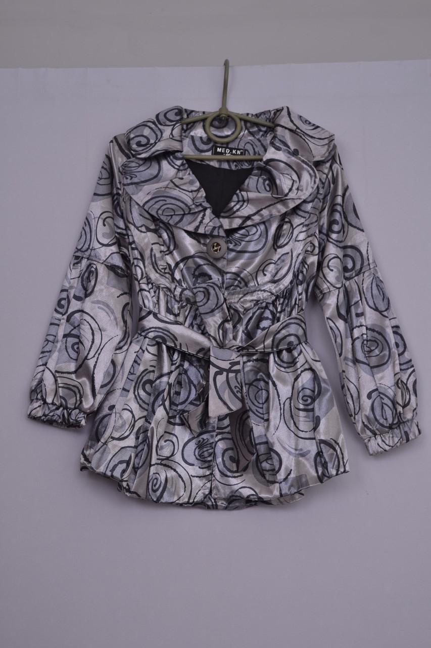 Л-88 Куртка на флісі тепла для дівчинки розмір 152-158 і 158-164 салатова