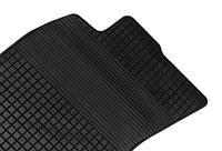 Комплект резиновых ковров Ауди А6 с 1997-2004 / цвет: чёрный (производитель Эволюшн)
