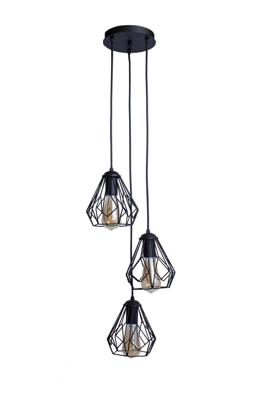 Світильник підвісний в стилі лофт MSK Electric Milan NL 538-3R