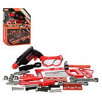 Іграшкові інструменти KY1068-111F Дриль з набором інструментів (Набір F)