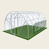 Теплица арочная 3х4м Solidprof (эконом), толщина поликарбоната 4мм