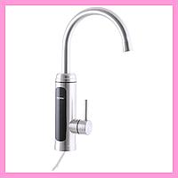 Проточный водонагреватель для кухни с краном Моментальный нагрев воды