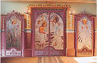 Ковані церковні двері