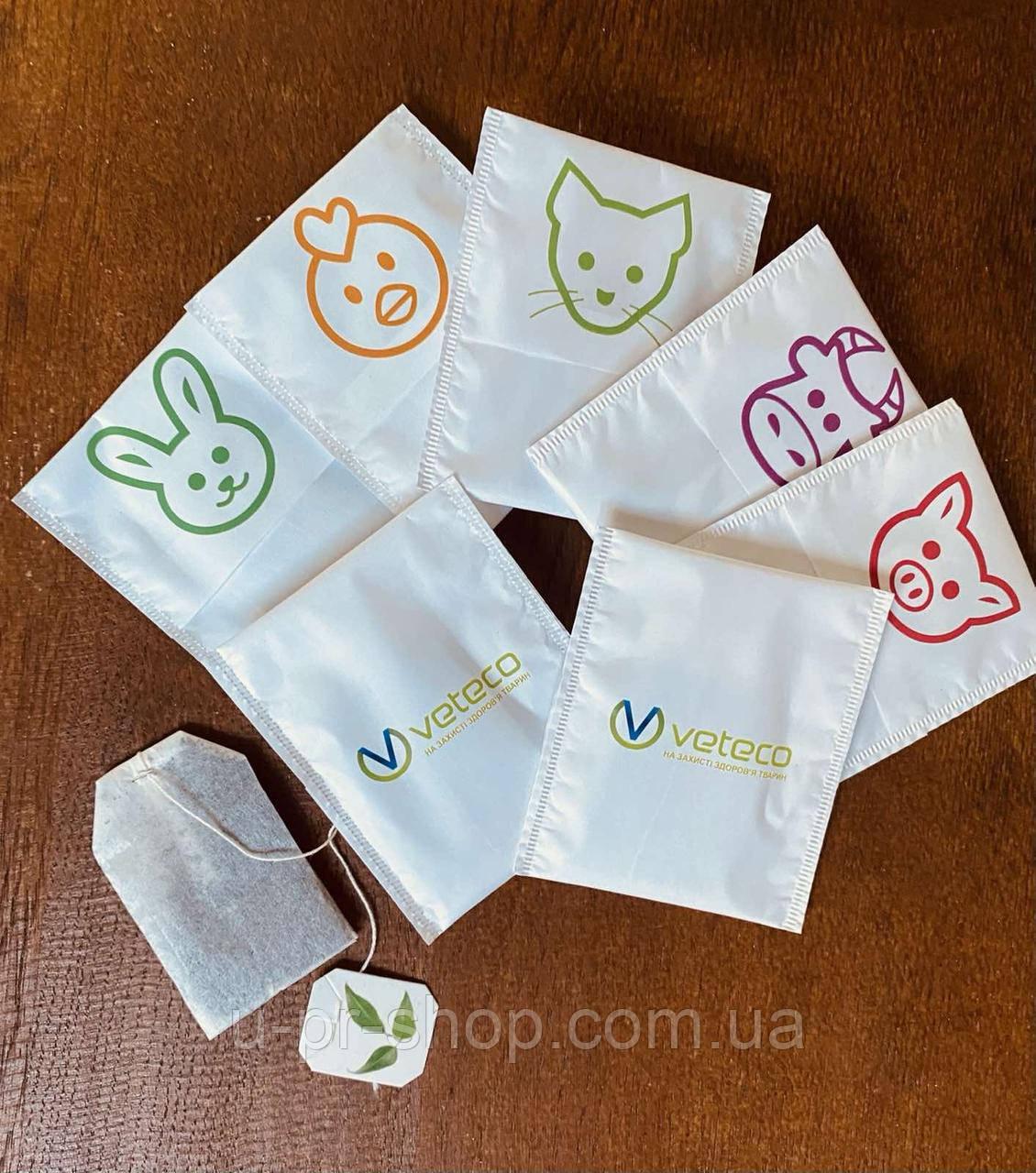 Чай в пакетиках с логотипом от 1000 шт.