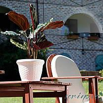 Горщик для квітів Wire 3,3 л теракотовий, фото 3