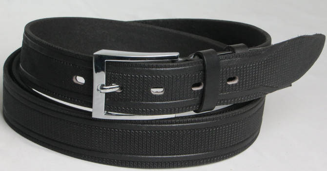 Мужской ремень кожаный длинный ремень черный кожаный мужской