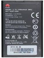 Аккумулятор Huawei G510/HB4W1 (1700 mAh)
