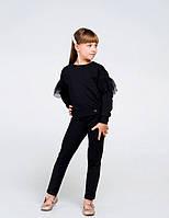 Світшот для дівчинки SMIL 116443 р. 158 Чорний